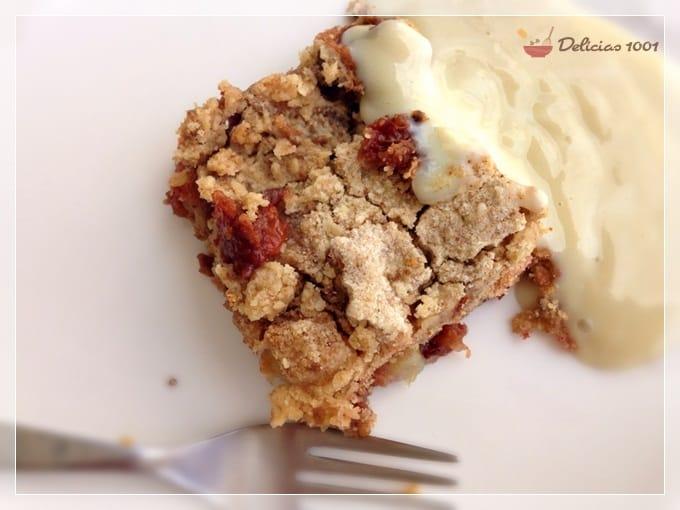 torta preguiça de maçã