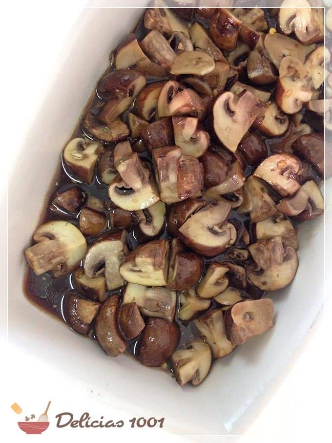cogumelo portobelo com balsamico